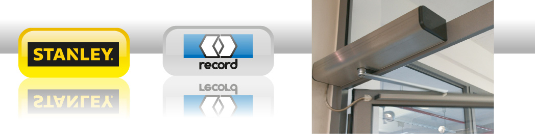 Stanley OzacDiTEC record logod. Site © Copyright Door Spring Supplies ...  sc 1 th 114 & Automatic Doors Window controls and closers from Door Spring ...