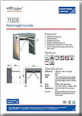 SPR400D Double Turnstile with Shutters