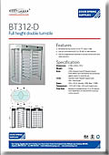BT312-D Double Turnstile