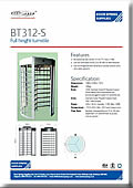 BT312-S Single Turnstile