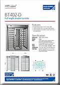 BT402-D Traditional Double Turnstile