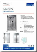 BT402-S Traditional Single Turnstile