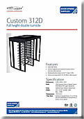 Custom 312D Double Turnstile