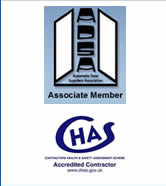 Associate member of ASDA and all our automatic door engineers are accredited contractors.