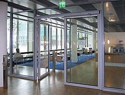 Swing Door at Landesbank Baden-Württemberg, Stuttgart