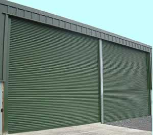 Roller Shutters - Delta roll 4000 electrically operated, direct drive security roller shutter door