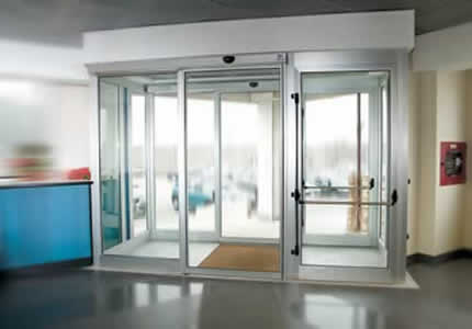 Faac Slim Line Automated System For Sliding Doors Door